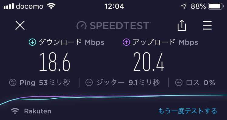 札幌駅周辺12:04の速度