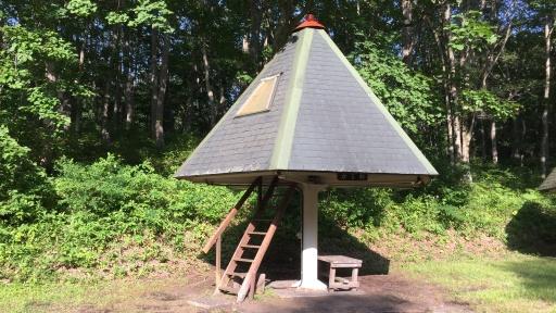 ときわキャンプ場のツリーハウス