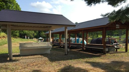 ときわキャンプ場フリーサイト(平地)