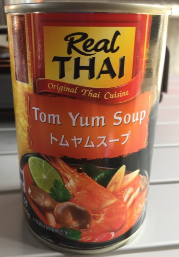 トムヤムクンスープの缶詰